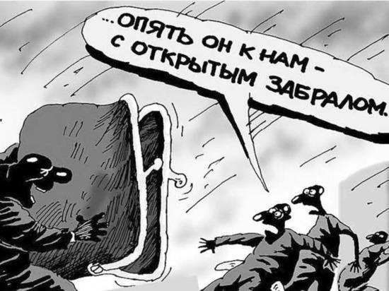 Мясные павильоны кыргызско-российской фирмы на Ошском рынке снова подвергаются захвату