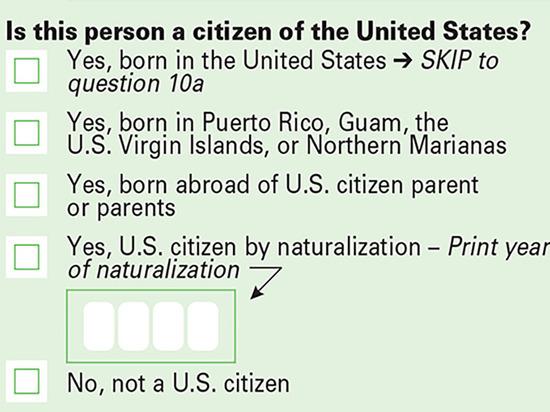 Трамп издал указ о предоставлении Бюро переписи населения информации о гражданстве из административных источников
