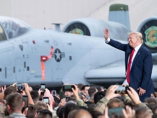 Трамп: корабль ВМС США сбил иранский беспилотник