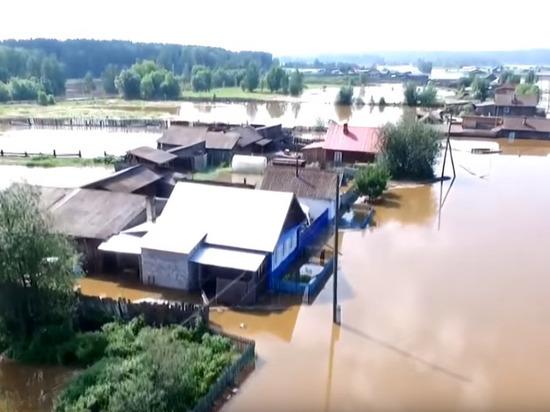 Путин снова посетит затопленные районы в Иркутской области