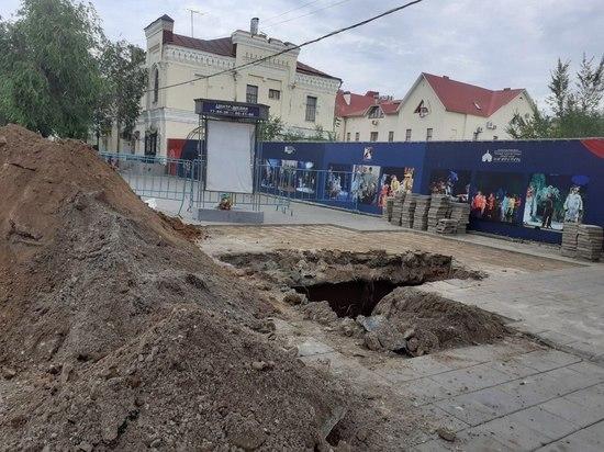 «Атриум» в центре Оренбурга становится опасным
