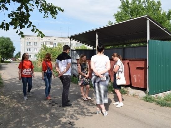 Омский регоператор и «Молодежка ОНФ» проверили ход реформы на селе
