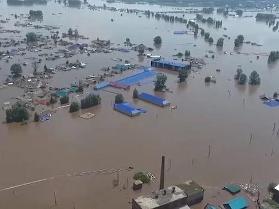 31 дом ещё подтоплен в Тулуне