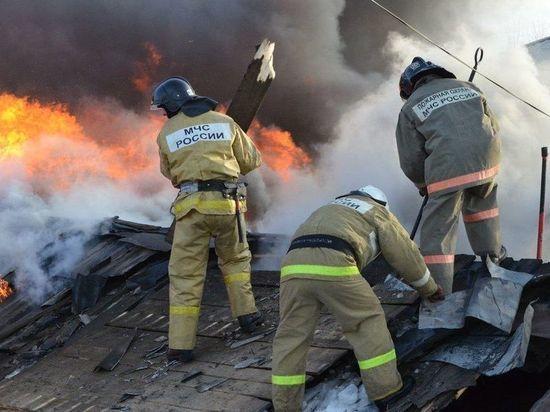 Огонь оставил жителя Мордовии без крыши над головой