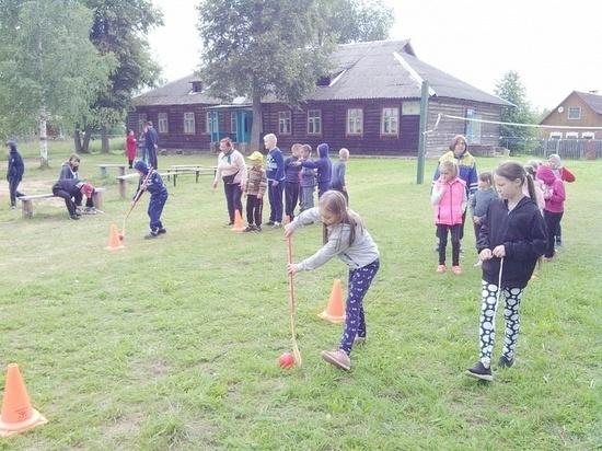 В Тверской области для детей устроили спортивные соревнования
