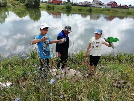 Семья из Рузаевки показала пример реальной заботы о природе