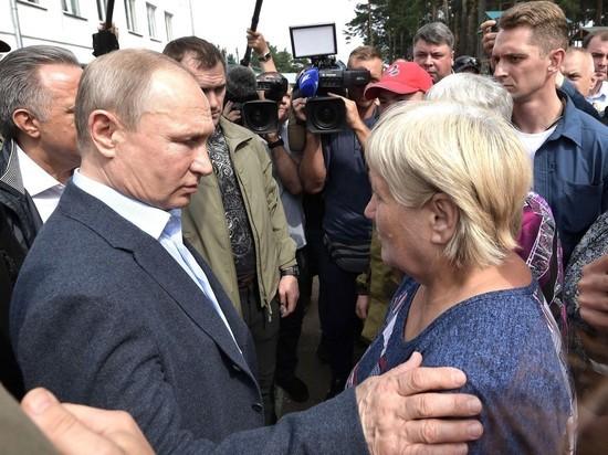 Путин включил «ручной режим»: жители затопленного Тулуна умоляли навести порядок