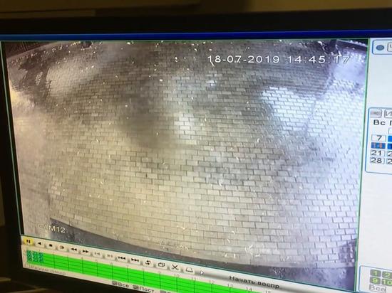 В музее Москвы засняли призрака на видео