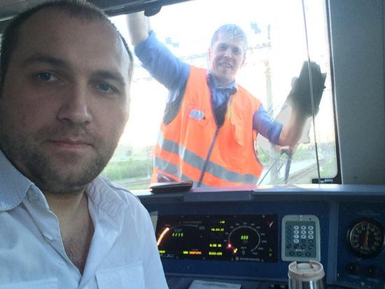 Машинист поезда рассказал, как в его кабине оказались попутчики