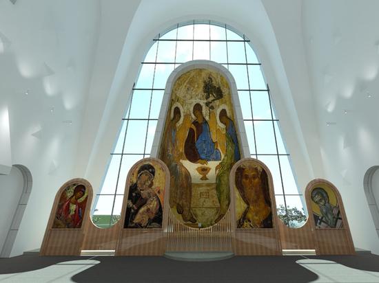 В Москве появится стеклянная и светящаяся церковь