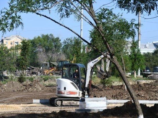 Сквер «Красного Октября» станет местом притяжения для жителей района