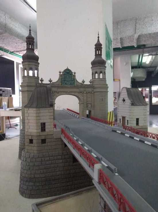 Макет Моста королевы Луизы станет частью экспозиции Московского Музея-диорамы «Царь макет»
