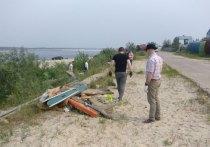 Ямальцы массово чистят озера от мусора