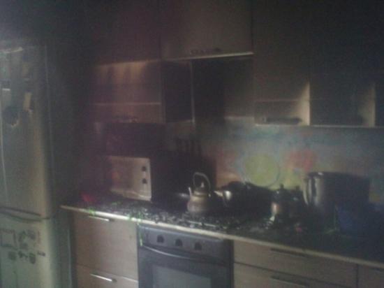 В Оренбурге на Донковцева сгорела квартира