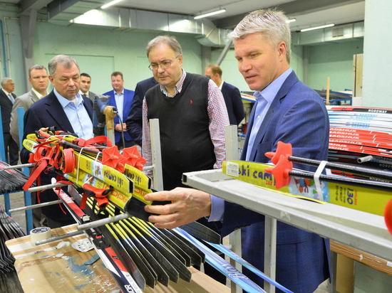 Министр спорта РФ посетил Калужскую область