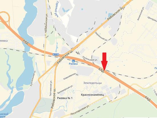 На Рябовском шоссе увеличатся пробки из-за ремонта КАД на Лубье