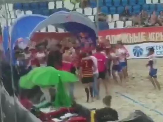 СМИ: русские и дагестанцы подрались на матче чемпионата России по регби