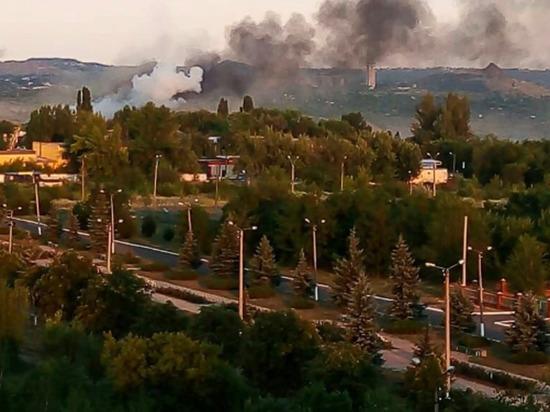ВСУ нанесли удар по Первомайску