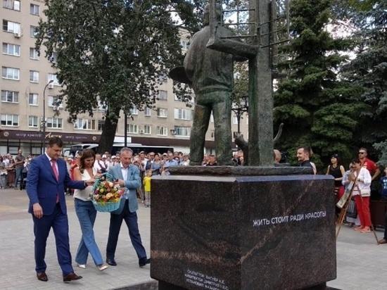 В Липецке открыт мемориал «Художник»