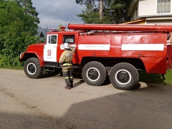Камаз с трактором столкнулись в Жуковском районе