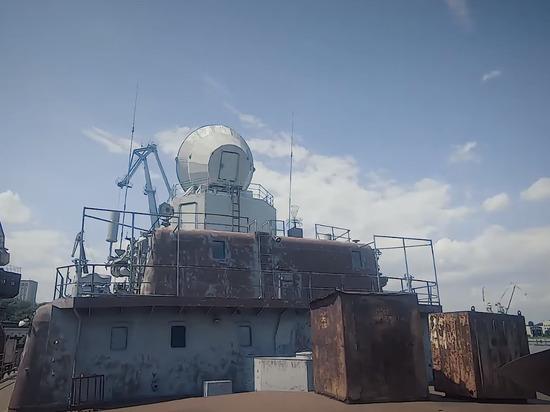 Зеленский показал плачевное состояние крейсера «Украина»