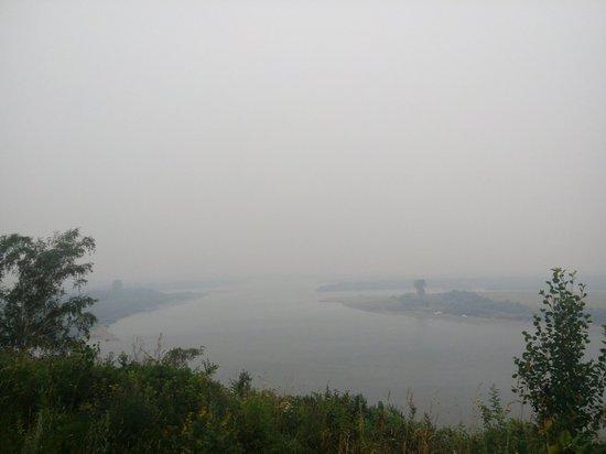 Томск вторые сутки задыхается от удушливого смога