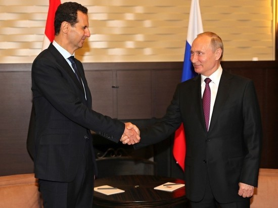 Путин пообещал продолжать помогать Сирии
