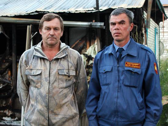 Росгвареец спас ребенка из горящего дома на Алтае