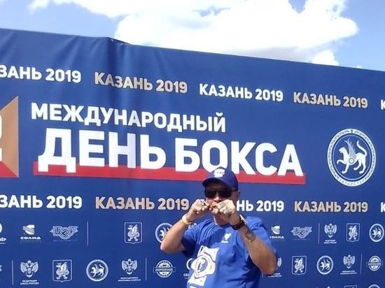 Более 2 тысяч татарстанцев участвовали в тренировке по боксу в Казани