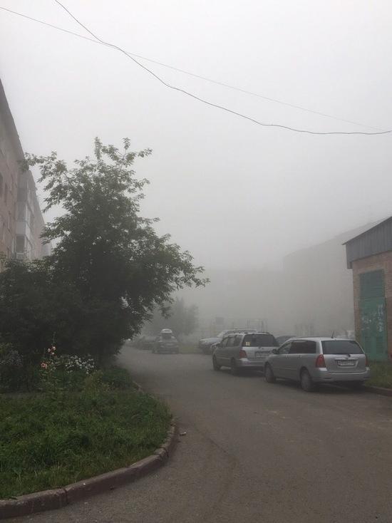 Кузбассовцы задыхались от дыма красноярских пожаров