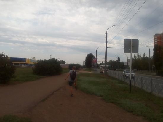 Жители одного из районов Оренбурга потеряли остановку
