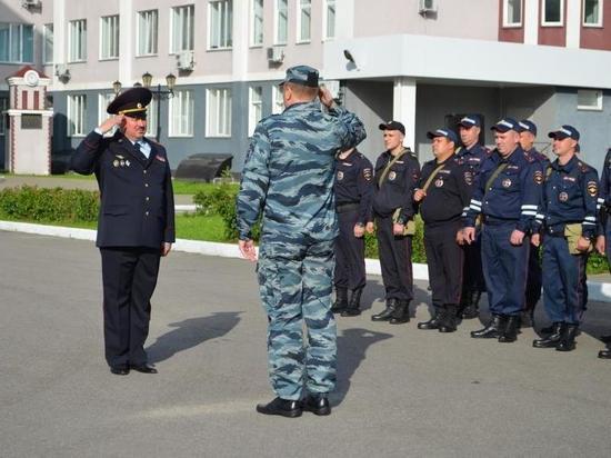 Ивановские полицейские отправились в очередную командировку на Кавказ