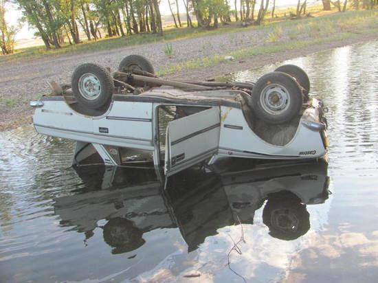 В реке Губерля погиб водитель