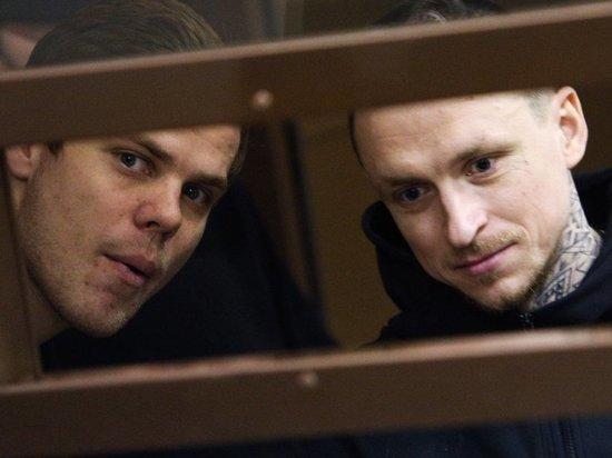 Мамаев и Кокорин будут ежемесячно получать в колонии по 9300 рублей