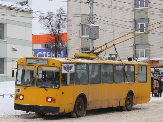 В Рязани временно отменили один троллейбус