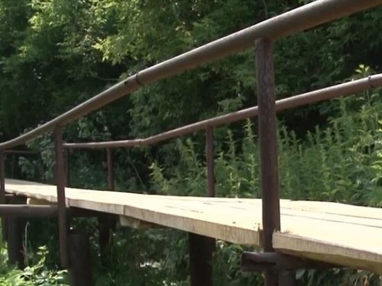 Скинуться на мост: жители отремонтировали за свой счет мост в Алтайском крае