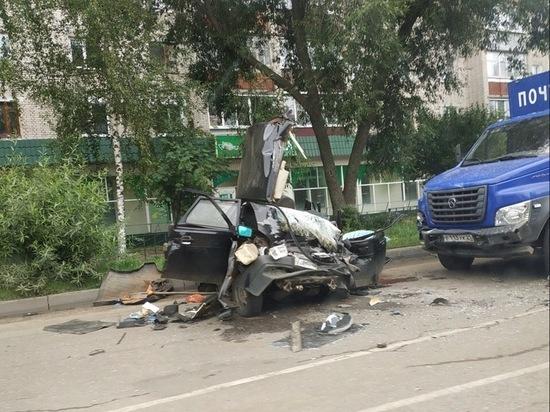Водитель и пассажир «Лады» погибли в ДТП в Канаше