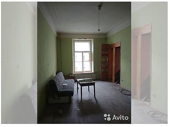 Комната в коммуналке Петербурга продается по цене квартиры-студии