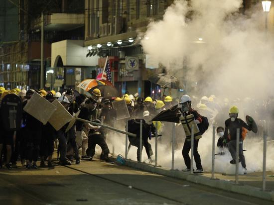 Гонконгские протесты: кто заинтересован в силовом подавлении массовых акций