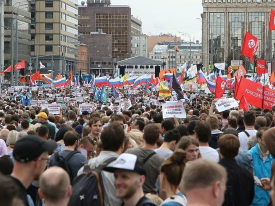 Москва и немосквичи