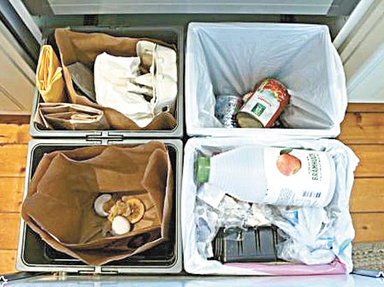 Идею раздельного сбора мусора затормозил размер российских кухонь