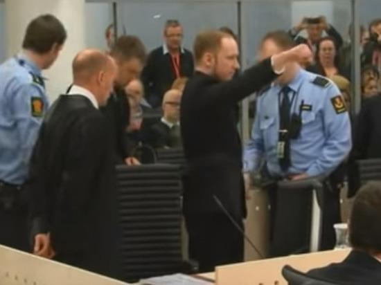 Полиция Норвегии задержала осквернивших памятник жертвам Брейвика