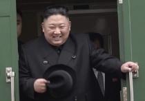 Лидер КНДР осмотрел новую подводную лодку