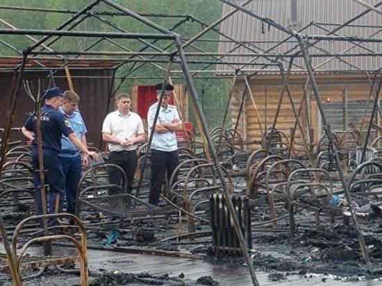 Спасший девочек при пожаре в хабаровском лагере мальчик впал в кому