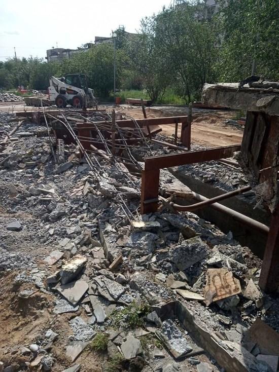 В Улан-Удэ началась реконструкция площади Славы