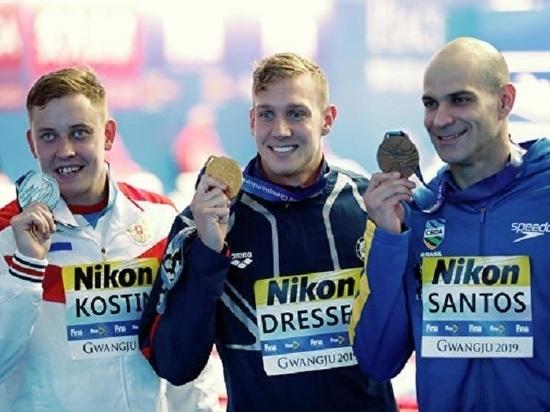 Нижегородский пловец Олег Костин завоевал серебро на Чемпионате мира