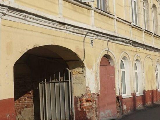 В центре Тамбова рушится объект культурного наследия