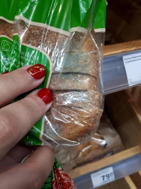 Хлеб с плесенью купила в магазине жительница Нового Уренгоя