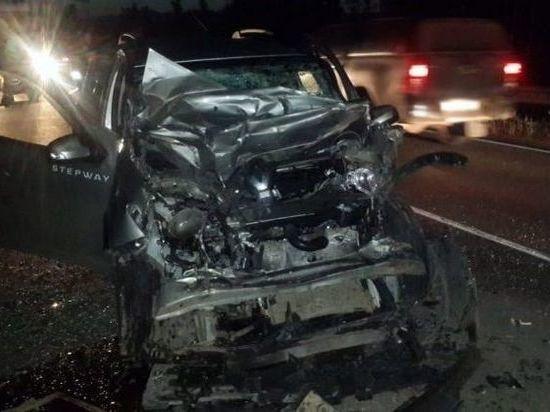 В Удмуртии на автотрассе в ДТП погиб водитель легкового автомобиля