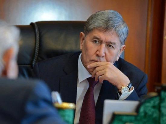 Бывший президент Киргизии Атамбаев собрался покинуть страну